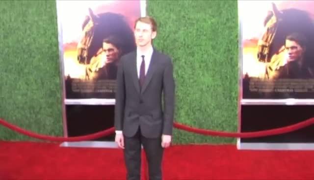 Celine Buckens Rubs Shoulders With Steven Spielberg At World Premiere - War Horse World Premiere Arrivals Part 1