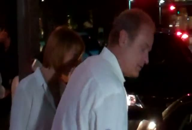 Kelsey Grammer Leaving A Restaurant In Beverly Hills