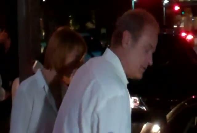 Kelsey Grammer leaving a restaurant in Beverly Hills