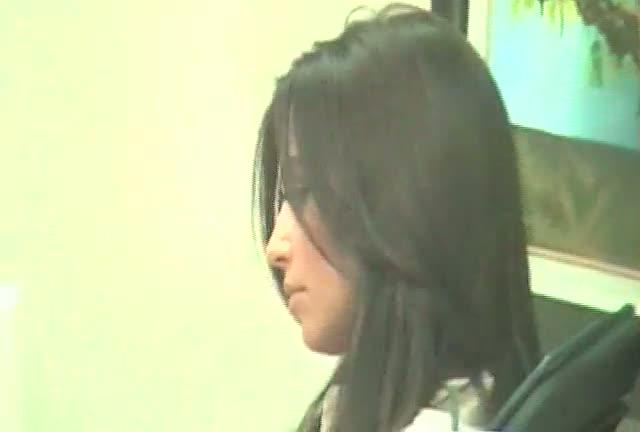 Kim Kardashian at a nail salon in Beverly Hills