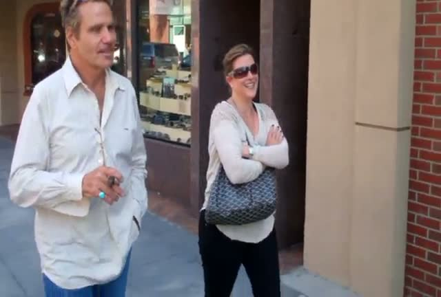 "Martin Kove aka Sensei John Kreese from ""The Karate Kid"" out and about in Beverly Hills"