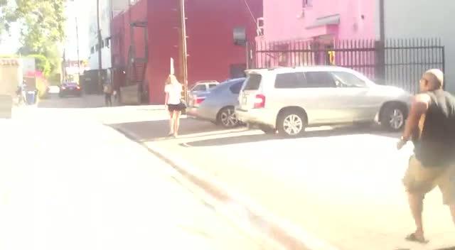 Socialites Nicky Hilton and Brandon Davis shopping in Beverly Hills