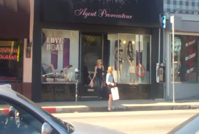 Emma Roberts leaving Agent Provocateur