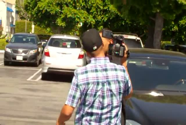 Mike Epps outside the Fred Segal boutique in West Hollywood