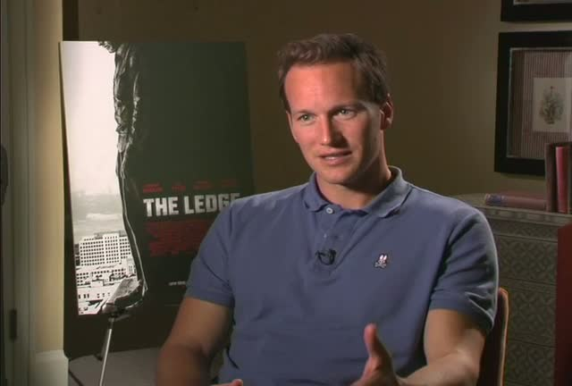 "Patrick Wilson chats about his new movie ""The Ledge"" during a press junket at the Crosby Hotel"