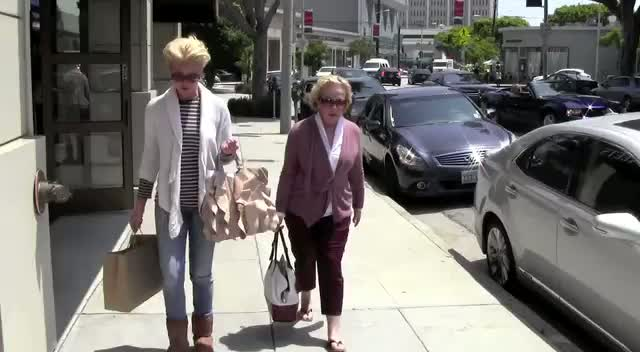 Katherine Heigl shopping in West Hollywood with her mother