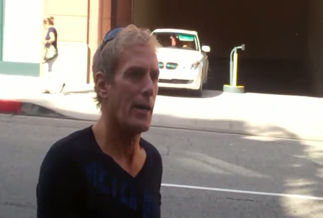 Michael Bolton out and about in Beverly Hills