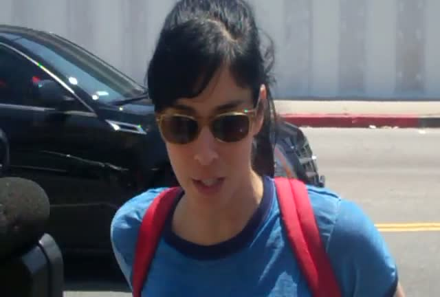 Sarah Silverman answers a question about...