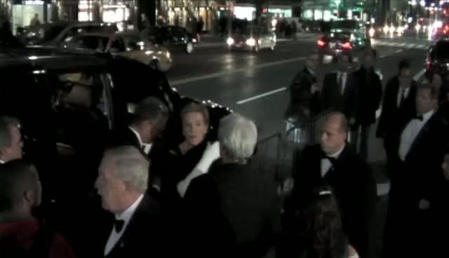 Elegant Julie Andrews Honoured At Princess Grace Gala In New York