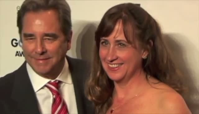 Beau Bridges And His Wife Have Arms Around Each Other At Awards Ceremony - Gotham Independent Film Awards Arrivals Part 1