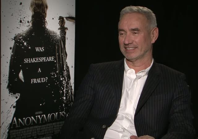 Roland Emmerich Did Not Grow Up With Shakespeare