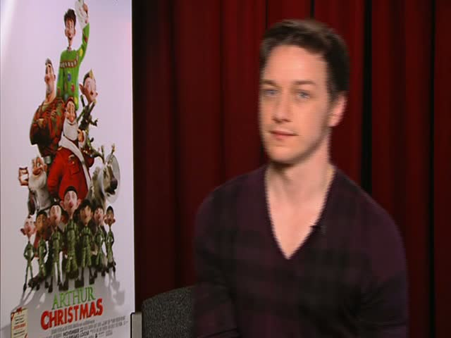 James McAvoy Ate Spaghetti Bolognese At Christmas