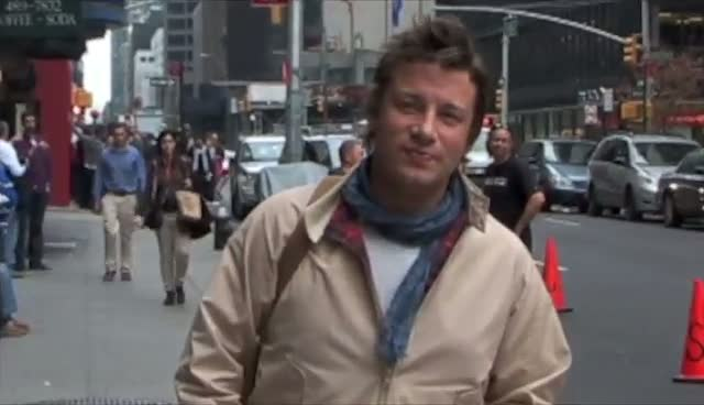 Jamie Oliver Asked For Opinion On Raw Food Diet