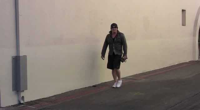 Mickey Rourke Almost Ran Over Photographer