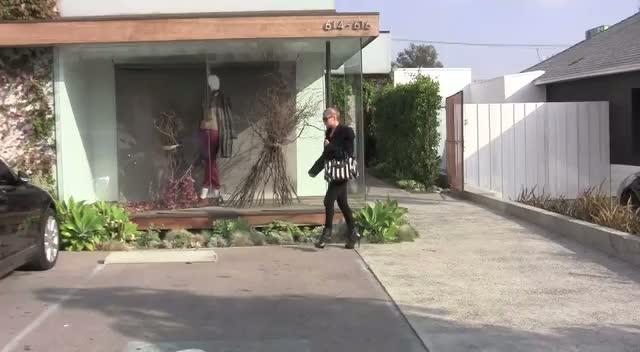 Nicole Richie Leaves Hair Salon In LA