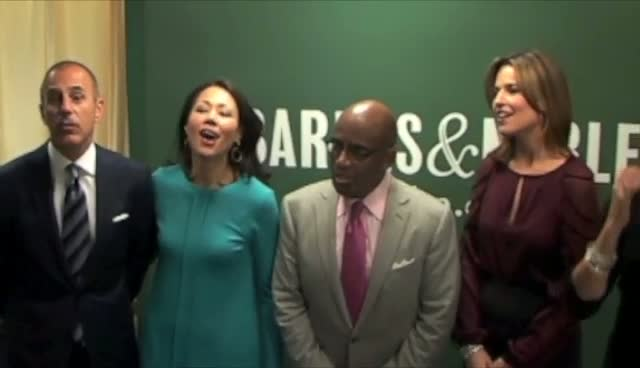Today Show Anchors Promote New Book