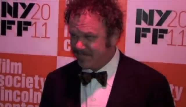 John C Reilly and Jodie Foster Look Happy On The Red Carpet - New York Premiere of Carnage Arrivals