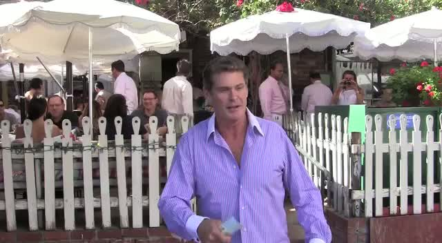 David Hasselhoff Would Only Rescue Drowning Women