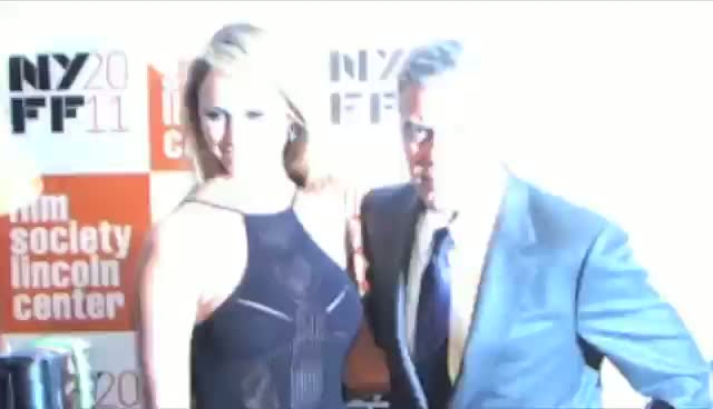 George Clooney Debuts New Girlfriend Stacey Keibler On The Red Carpet