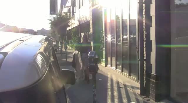 DWTS Contestant Kristin Cavallari Leaving Tailors