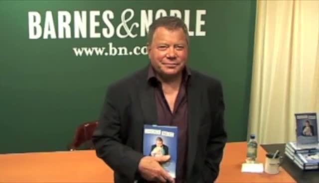 William Shatner Signing Copies Of His New Book