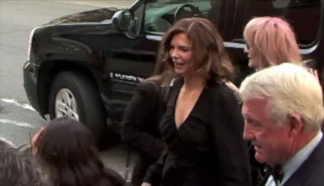 Gloria Estefan Takes Photo With A Fan - Lifetime movie 'Five' Arrivals Part 1