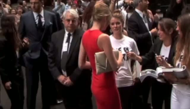 Stars Spotted At The Calvin Klein Show At New York Fashion Week 2011