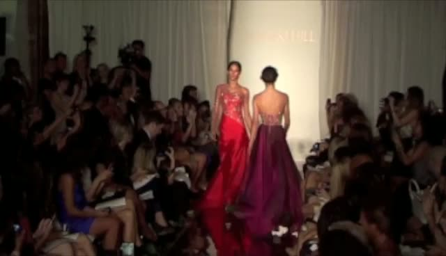 Kendall Jenner Making Catwalk Debut - New York Fashion Week 2011 Sherri Hill Show Part 2