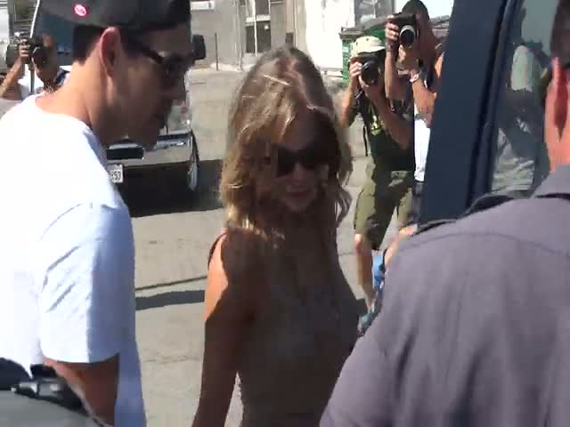 Eddie Cibrian and LeAnn Rimes Leaving Malibu Fair