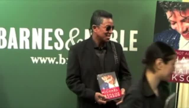 Jermaine Jackson In New York To...