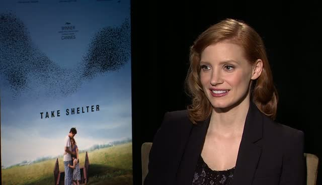 Jessica Chastain Earthquake Survivor
