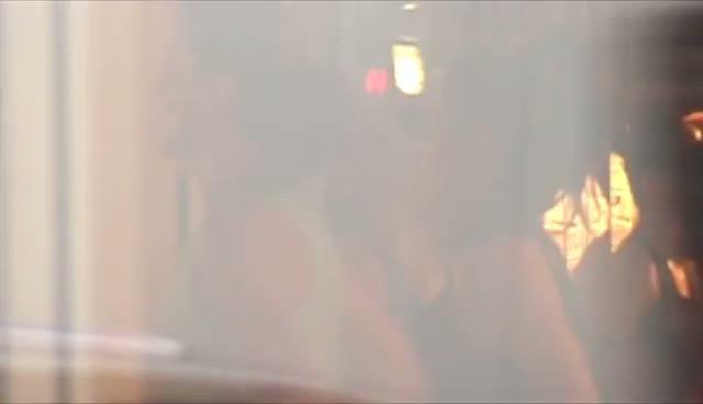 Kim and Kourtney Kardashian Leaving A Vigorous Gym Session