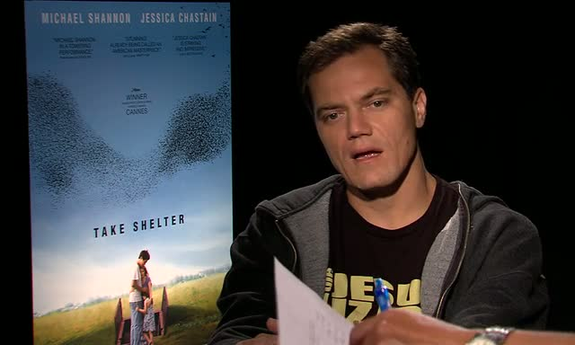 Michael Shannon Escaped Hurricane Irene In Harlem