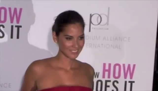 Olivia Munn Is Pleased To See Hoda Kotb - 'I Don't Know How She Does It' New York Premiere Arrivals Part 3