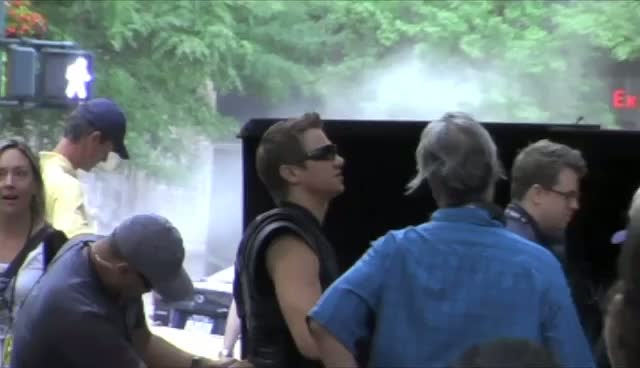 Day 2 Of Avengers Filming In New York