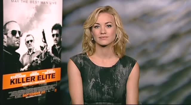 Yvonne Strahovski: 'Jason Statham Should Do Comedies'