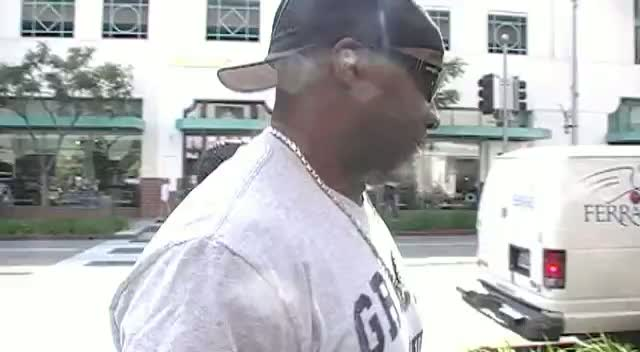 A Loved Up Omarosa And Michael Clarke Duncan Make A New Friend On Way To Dinner Date