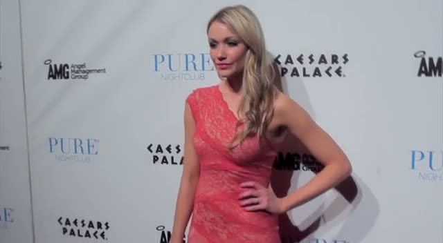 Actress Katrina Bowden Hosts Vegas Bash