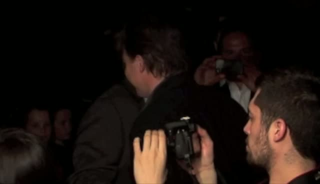 Brendan Fraser Snaps The Paps At Whole Lotta Sole Premiere