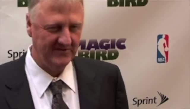 Magic Johnson And Larry Bird Reunite For Broadway Premier Of Biopic