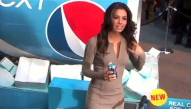 Eva Longoria Promotes Pepsi in New York