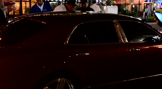 Lebron James Takes Off From Miami Nightclub
