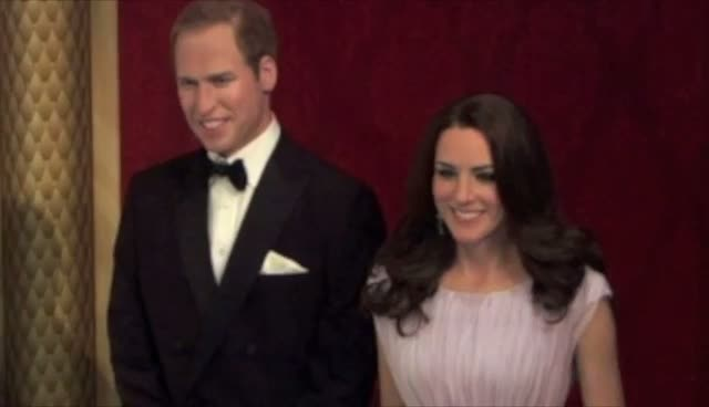 Madame Tussauds New York Unveils Prince William and Kate Middleton Models