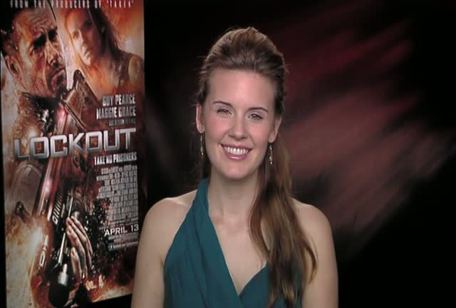 Maggie Grace Interviewed About Getting To Grips With The Action Genre