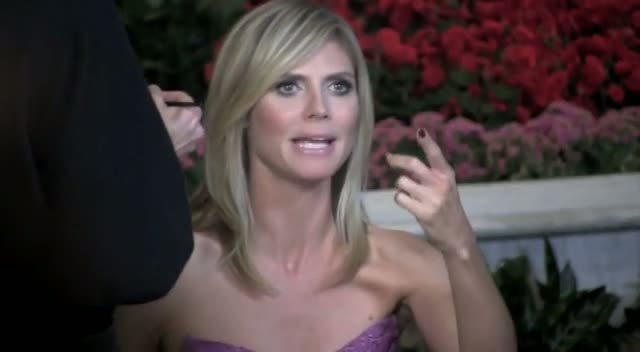 No Hang Ups For Heidi Klum As She Dives Back Into Working