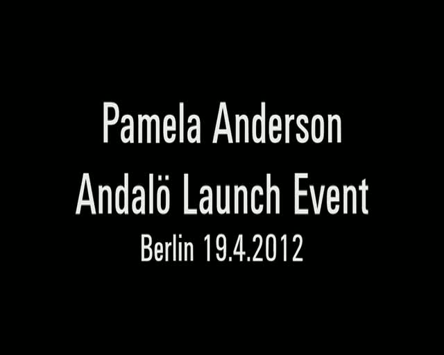 Pamela Anderson Spills The Beans In Berlin