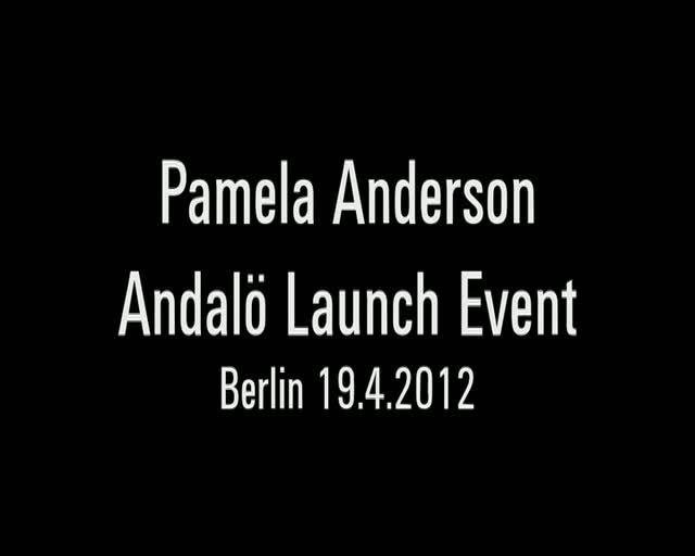 Pamela Anderson Spills The Beans In Berlin