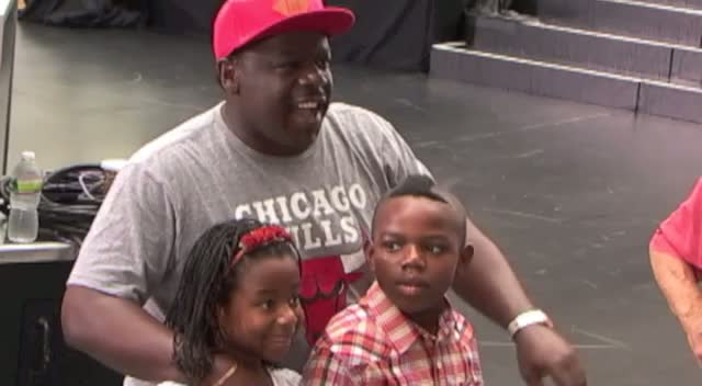 Cedric The Entertainer Takes Kids To Today Show Concert