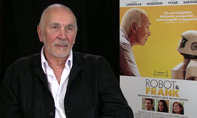 Frank Langella Says He Wouldn't Want A Close Relationship With A Robot