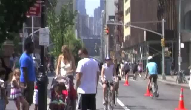 Heidi Klum Take Her Children Around Manhattan With Seal's Brother